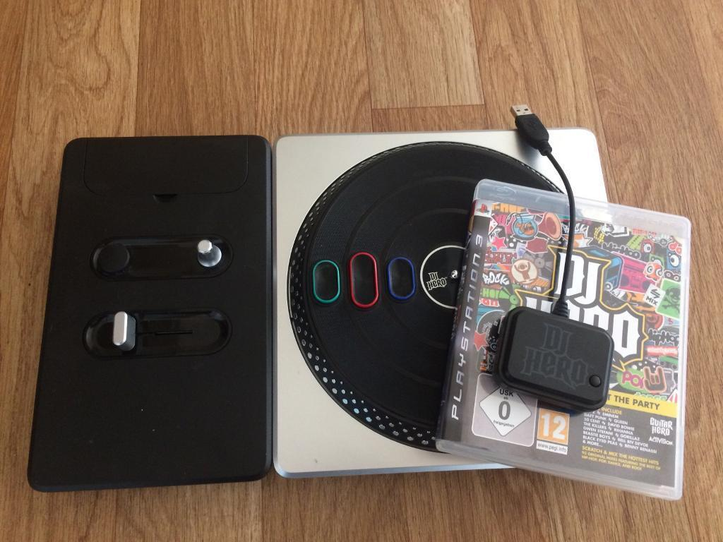 Dj Hero PS3in Keith, MorayGumtree - Dj Hero for PS3, controller and disk in good condition with dongle connector, £5