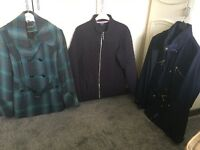 Selection of ladies jackets size 12 and size 14