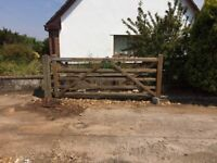 10 ft farm/barn gate