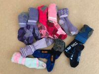 Kids Ski Socks size 27-30 (10 pairs)