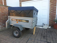 Daxara 107 Trailer with extension and spare wheel