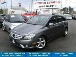 2013 Mercedes-Benz B-Class Sports Pano Sunroof/Lther/Alloys &GPS