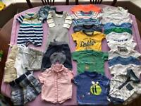 Baby boys bundle of 0-3 month clothes