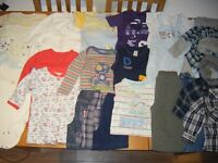 9-12 month baby boy clothes, in good condition, 51 items(more items than in display picture) £20!