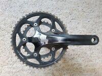 Shimano 105 5600 crank set and look pedals