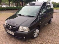 bargain Peugeot expert e7 taxi cab direct conversion with Birmingham hackney plate 8v engine