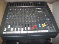 SOUNDCRAFT SPIRIT POWERSTATION 600 PA mixer amp + FX.