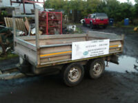 indespension , tipping trailer