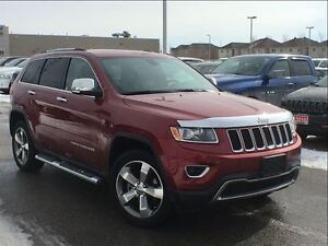 2014 Jeep Grand Cherokee Limited**LEATHER SEATING**POWER SUNROOF