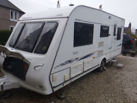 Compass Omega 505, 5 Berth Touring Caravan, 2007, Single Axle, Awning, Motor Mover, many extra's.