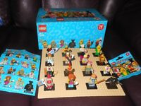 Lego Series 17 minifigures (newest series)