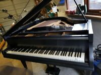 Challen & Sons Baby Grand Piano.