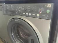 Hotpoint Aquarius WDAL 9640G Washer Dryer Graphite