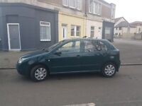 2001 Skoda fabia diesel with tow bar