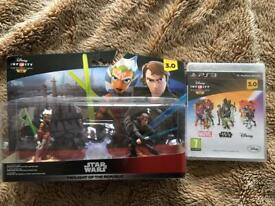 Disney Infinity 3.0 Star Wars Twilight of the Republic & PS3 Game