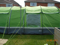 hi gear kalahari elite 10 man tent very good clean used condition