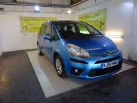 BAD CREDIT! PAY AS YOU GO! CITROEN C4 PICASSO DIESEL AUTOMATIC REPRESENTATIVE APR 29.92