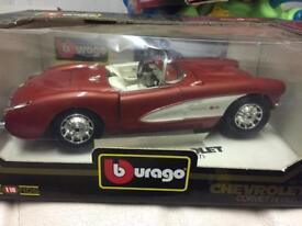Burago Chevrolet Corvette 1957