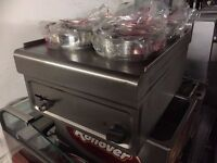CATERING COMMERCIAL 4 POT BAIN MARIE FAST FOOD RESTAURANT CAFE KEBAB CHICKEN SHOP