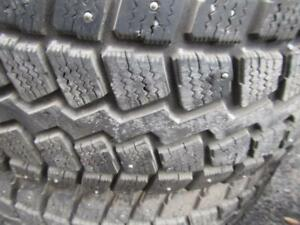 4---P245/65R17---Studded---on Honda Pilot Steels
