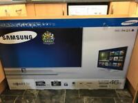 Samsung ue46f7000 smart,3d quad core tv like new.