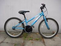 Kids Mountain Bike by Apollo, Blue, 20 inch Wheels are for Kids 7+, JUST SERVICED / CHEAP PRICE!!!!