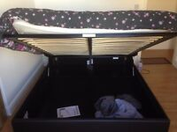 King size bed and matress from Argos 1month old