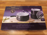 Pan Set - Sainsbury's Cook Collection - Brand New, un-opened!