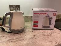 Morphy Richards Evoke Kettle - Cream - Brand new