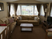 Static Caravan - 2 bedroom, by the sea, quiet site, Gower, South Wales. Site fees paid for 2018