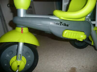 Green & Grey 3 Stage Smart Trike