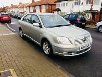 Toyota Avensis 2004 VVT-i T3-X 4dr, HPI CLEAR not rav4 or Yaris Auris or Corolla