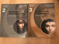 Foundation & Professional Hairdressing Official Guide Level 2 & Level 3 NVQ C&G Guide Books