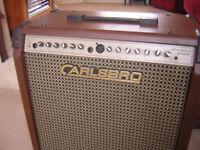 Carlsbro Sherwood 100 wat acoustic combo sell or swap