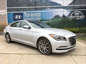 2017 Genesis G80 5.0 V8 Ultimate, 1 Year Extended Warranty