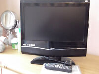 "BUSH 19"" Digital FREEVIEW LCD TV with DVD as new condition"