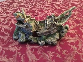 Fish tank ship rek