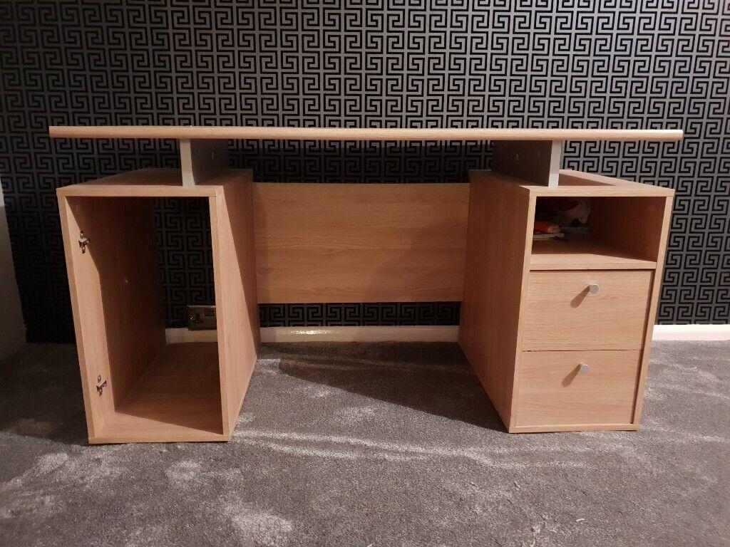 Beach Wood Computer Desk