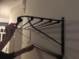 New unused IKEA hat and coat rack (wall hanging)