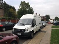 White Ford Transit 100 T350 RWD 2.4 / 2006 to SALE