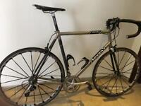 'Seven' Titanium and Carbon Fibre Racing Cycle