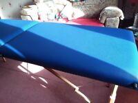 Massage Couch & accessories