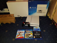 Sony PlayStation Boxed 500GB Console Bundle 4 Games Official PS4 Star Wars Vader Edition Controller