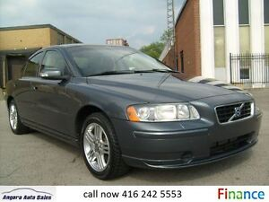 2007 Volvo S60 Certified, Financing is available!