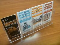 4 bay ⅓ A4 LEAFLET HOLDERS - WALLMOUNTED OR FREESTANDING