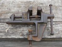 GERMAN VICE DRGM MANUFACTURED PRE 1945 GOOD WORKING CONDITION. PICK UP MATLOCK OR NOTTINGHAM
