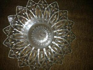 Crystal plates and bowls, perfect for parties! Cornwall Ontario image 2