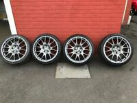 """19"""" Alloy wheels. 5x120 Vauxhall or BMW fitment."""