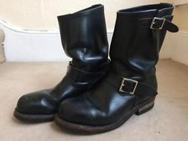 Red Wing Engineer Boots UK 7