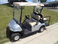 Golf Cart Blowout - 2010 Electric EZGO RXV w/rear seat, lights